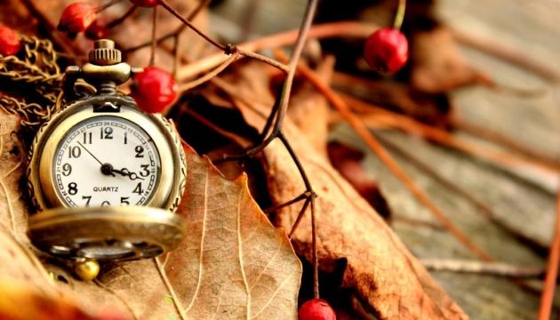 Україна 27 жовтня переходить на зимовий час