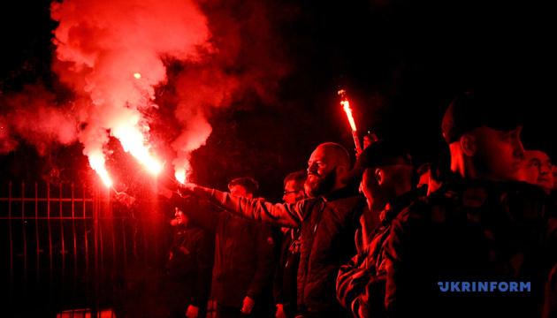 У Запоріжжі мітингували проти «формули Штайнмаєра». ФОТО