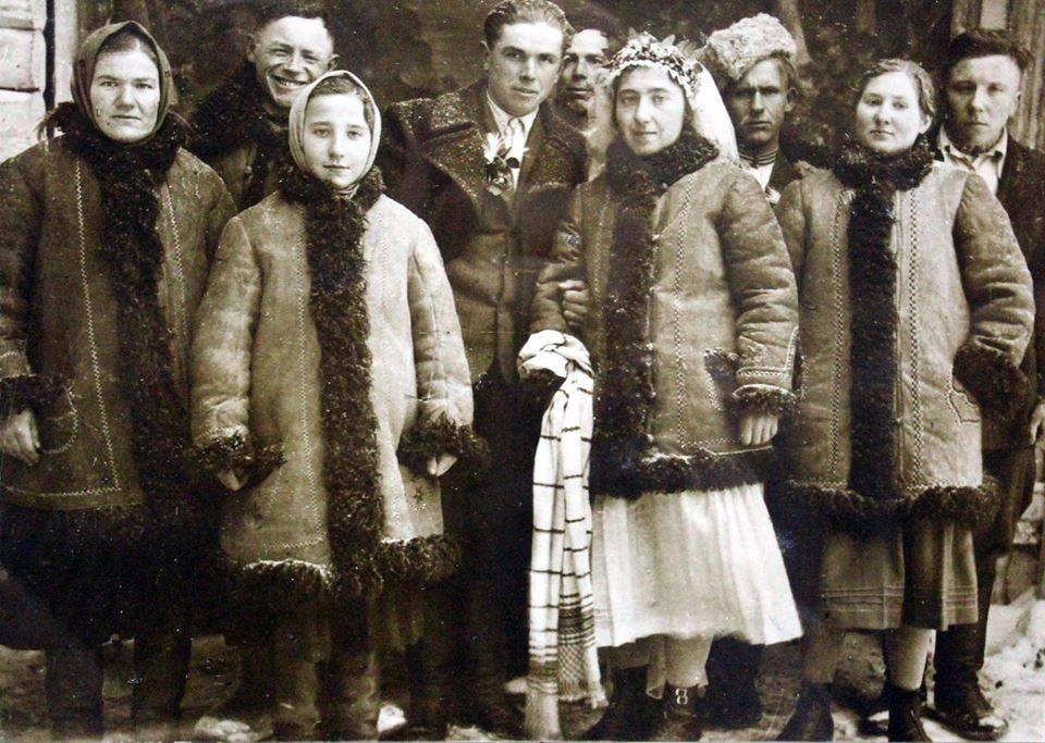 Волинянам показали, як виглядало весілля майже 90 років тому