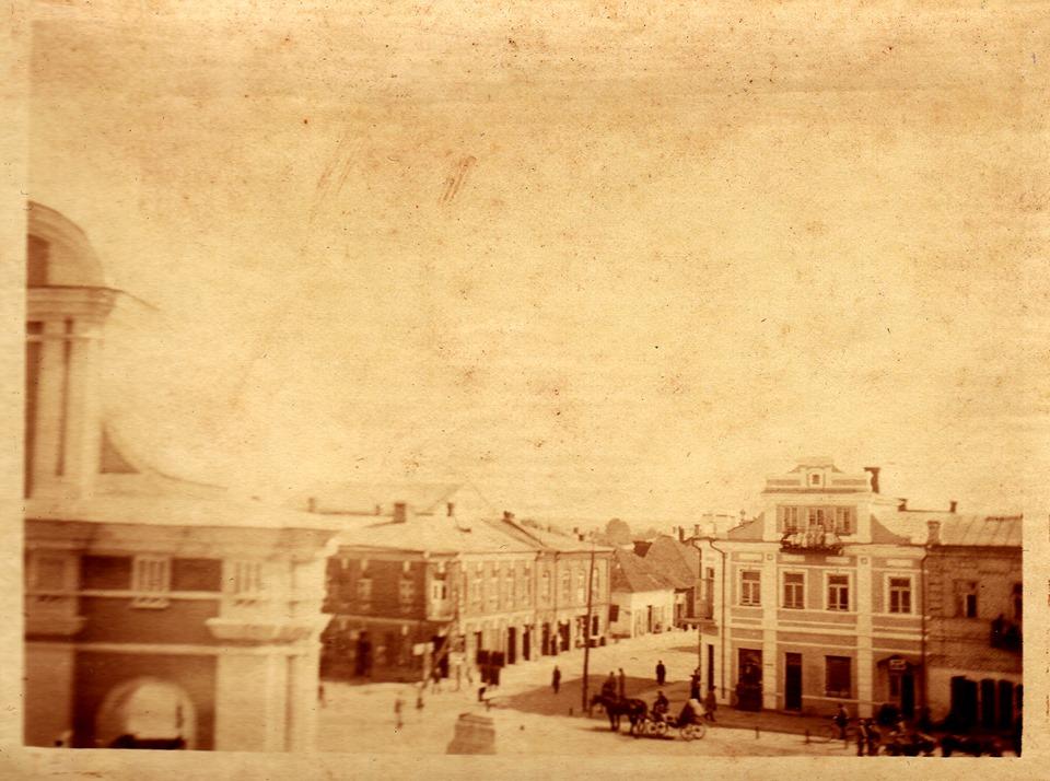 Показали рідкісне фото Володимира-Волинського у XX столітті