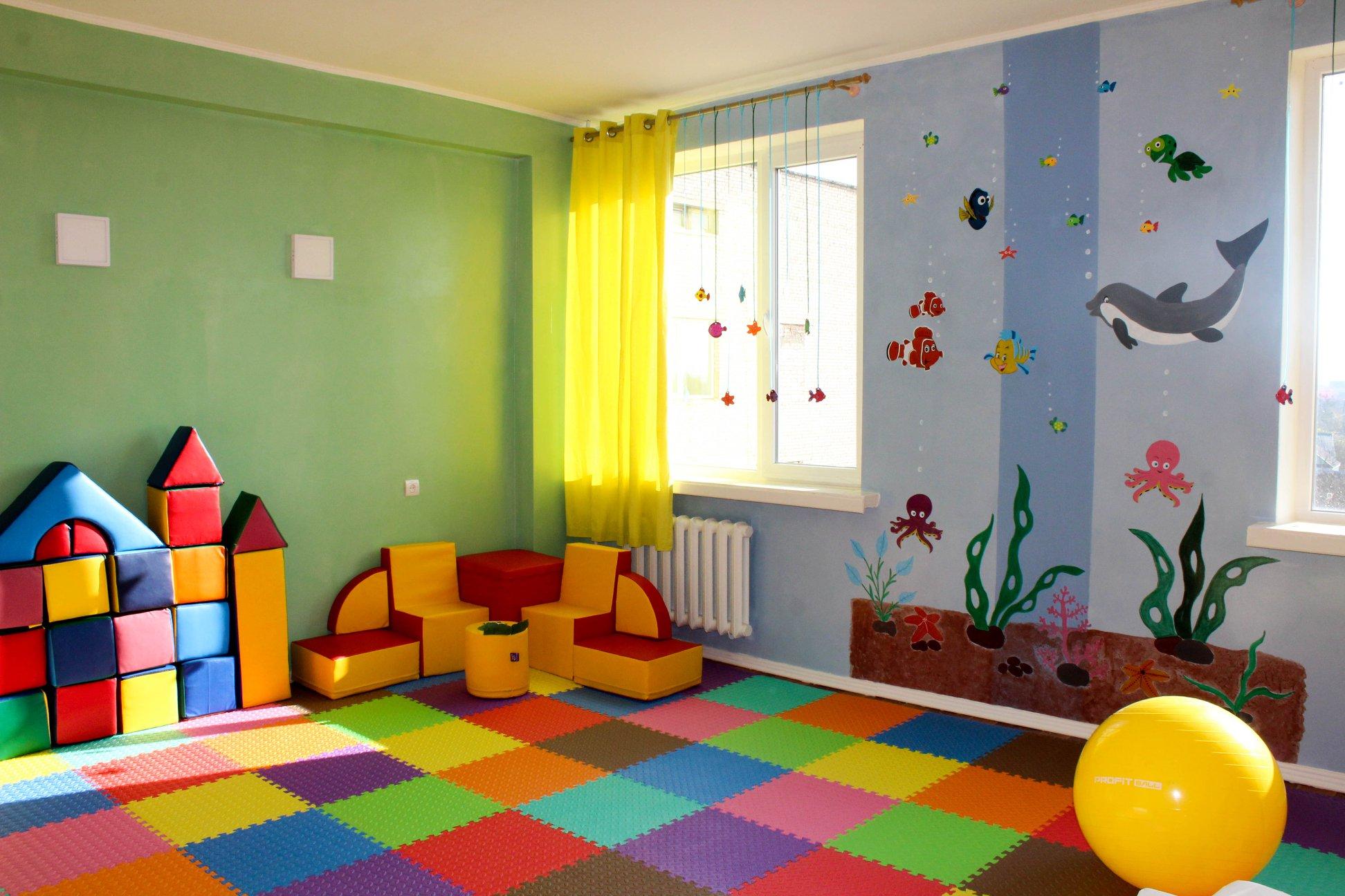 У лікарні на Волині відкрили ігрову кімнату для дітей. ФОТО