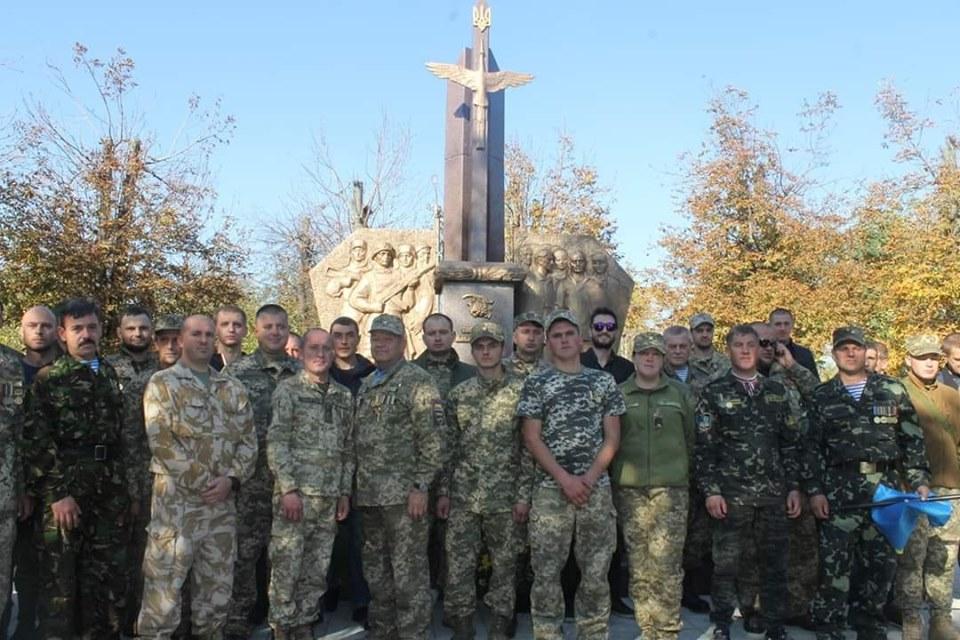 На Волині відкрили пам'ятний знак борцям за волю та незалежність України. ФОТО