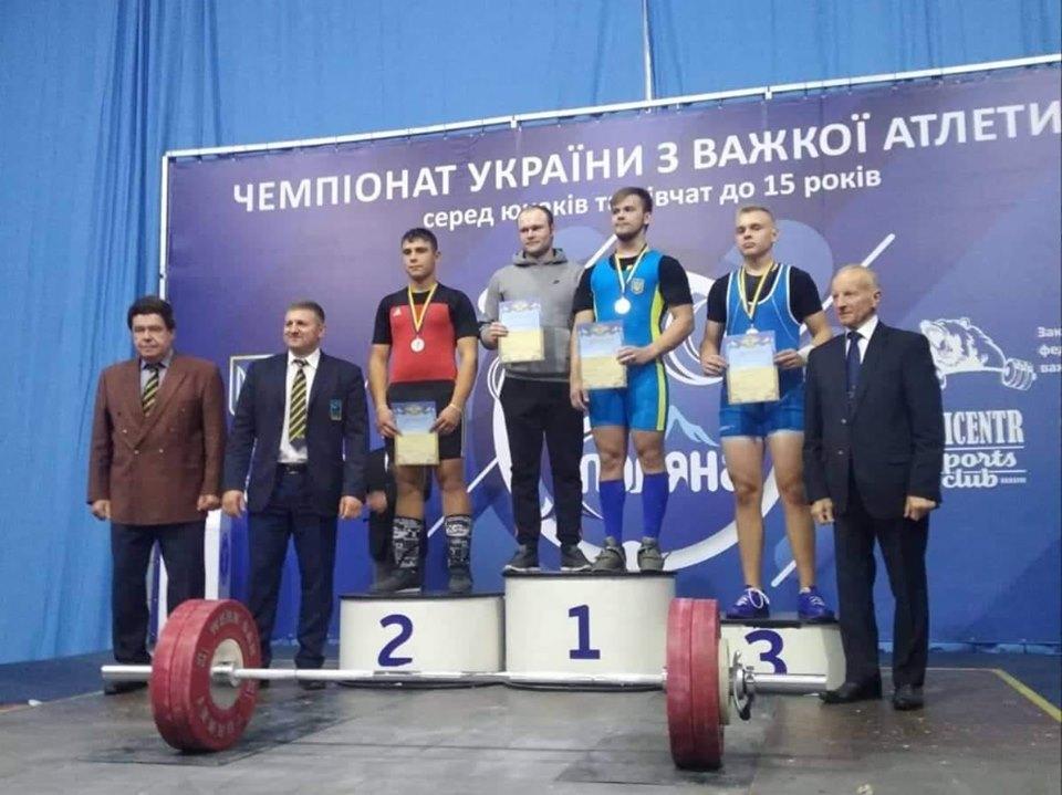 Лучанин виборов срібну медаль на Чемпіонаті з важкої атлетики