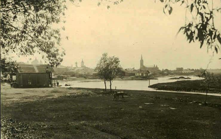 Лучанам показали, як виглядало місто 100 років тому