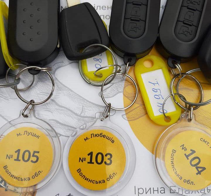 Волинські центри ЕМД отримали три нові автомобілі