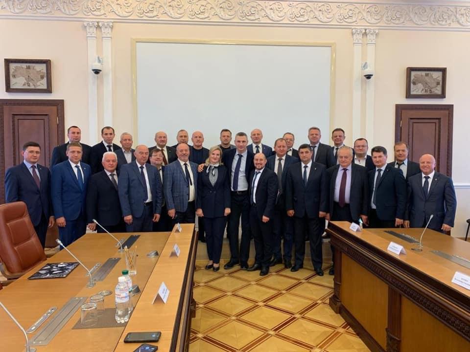 Волиняни-самоврядці взяли участь у зустрічі з прем'єр-міністром. ФОТО