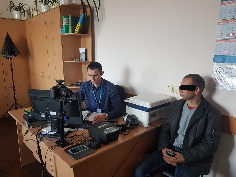На Волині спіймали мігранта з Білорусі