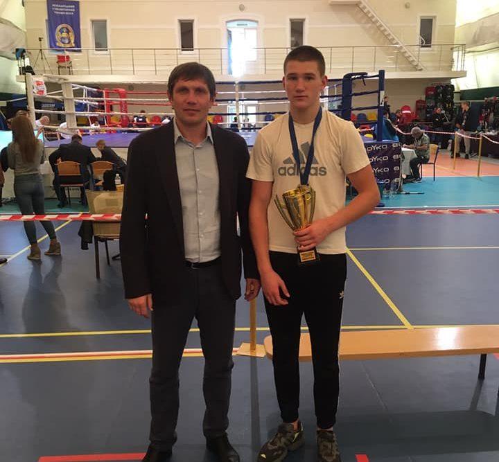 Волинянин став новим чемпіоном України з боксу серед юніорів