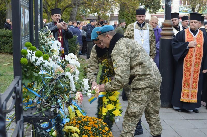 У місті на Волині вшанували пам'ять загиблих захисників України