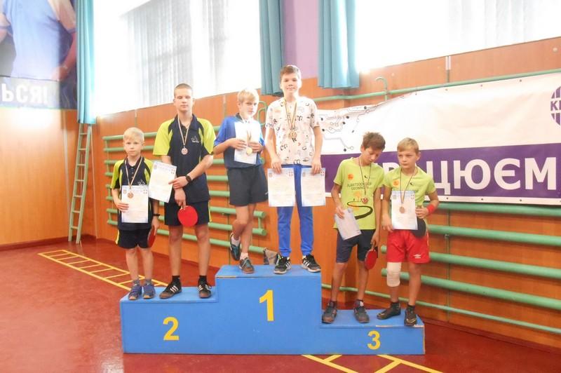 Волиняни стали призерами чемпіонату області з настільного тенісу