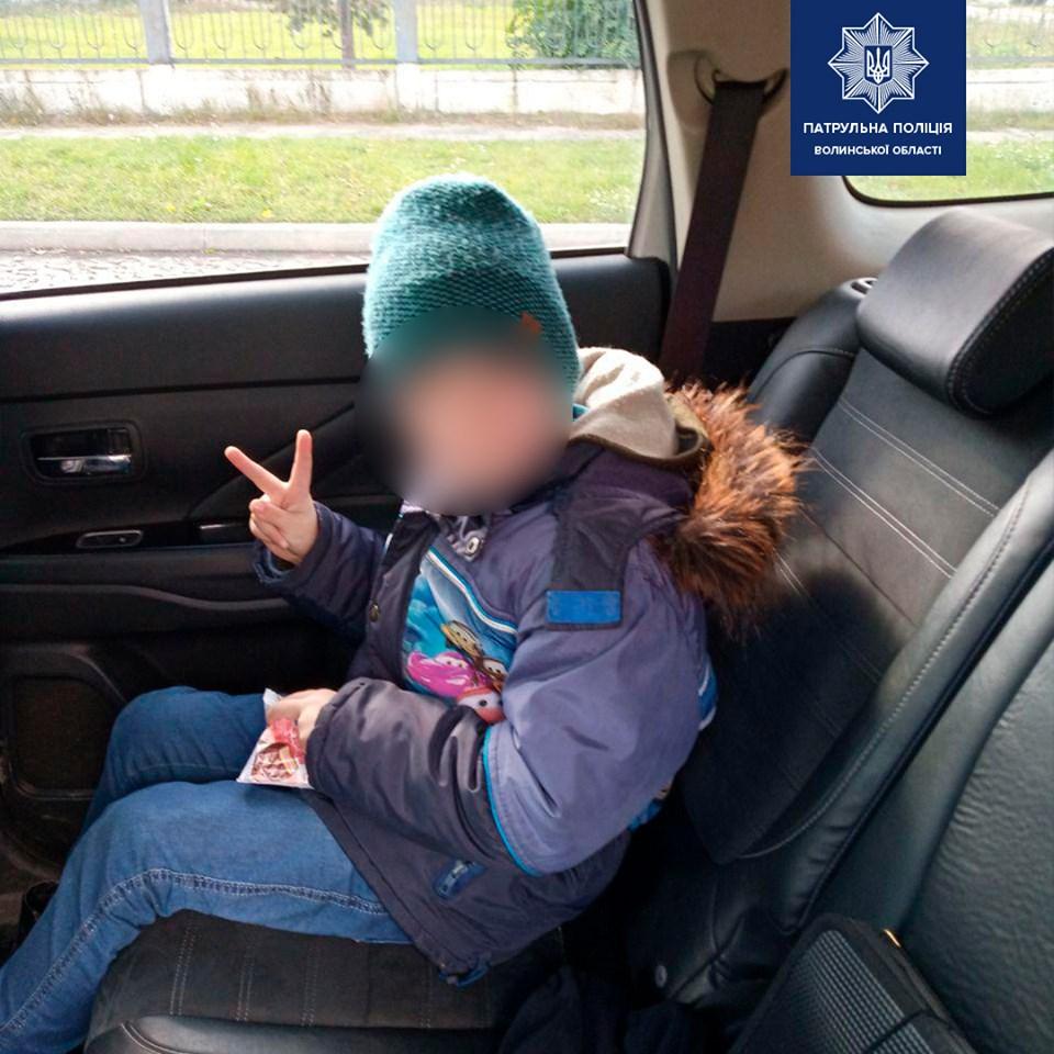 Сів у маршруку з Ковеля до Луцька: патрульні відшукали хлопчика, який заблукав