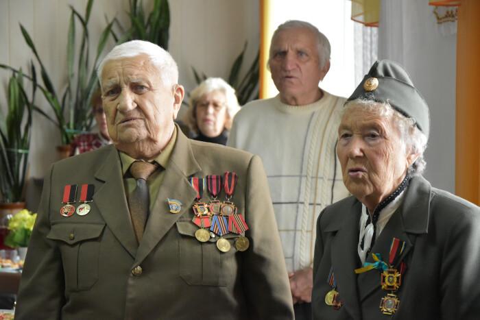 У Луцьку привітали ветеранів ОУН-УПА із Днем захисника України