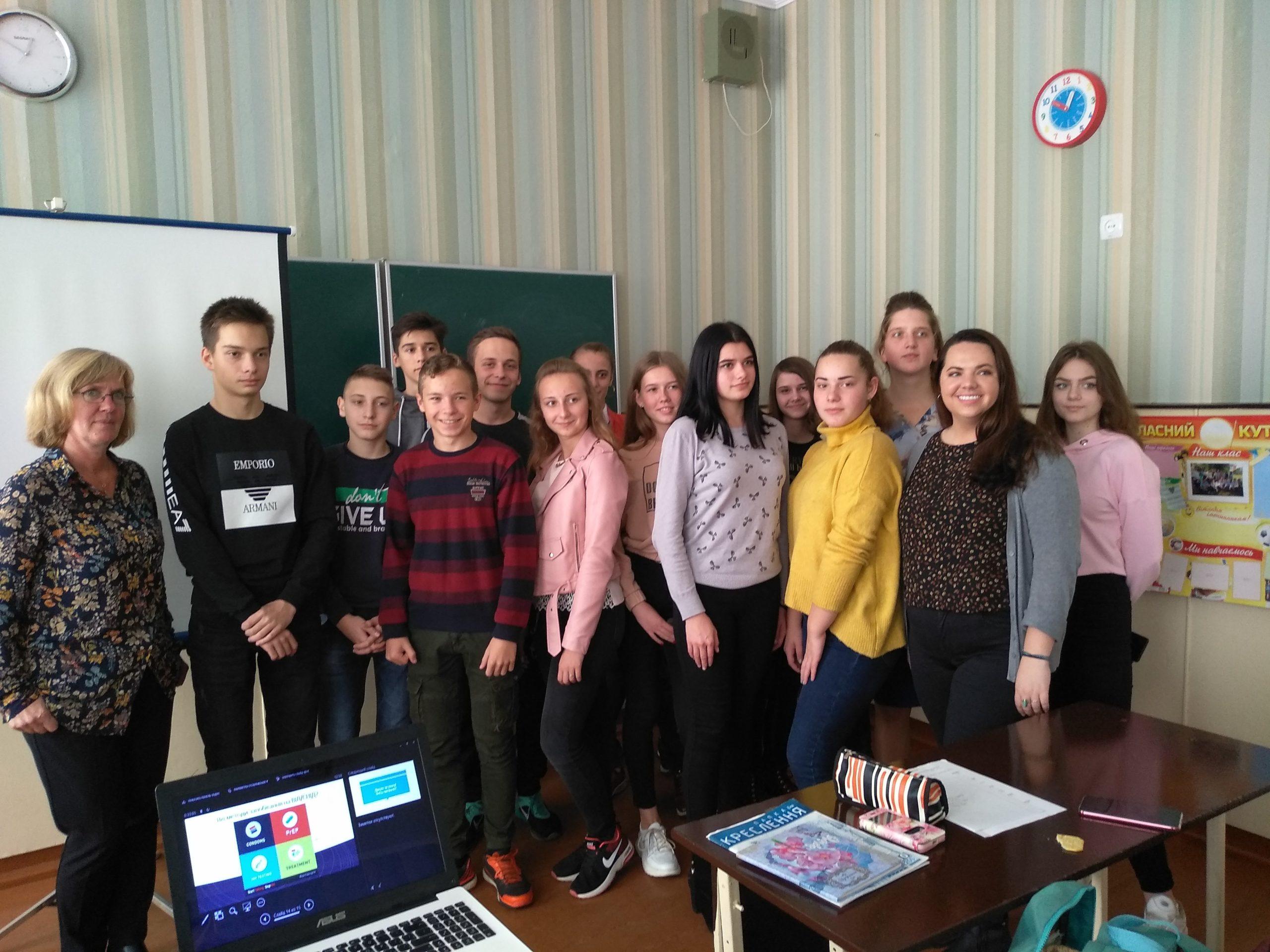 Волинських школярів інформували про ВІЛ та СНІД