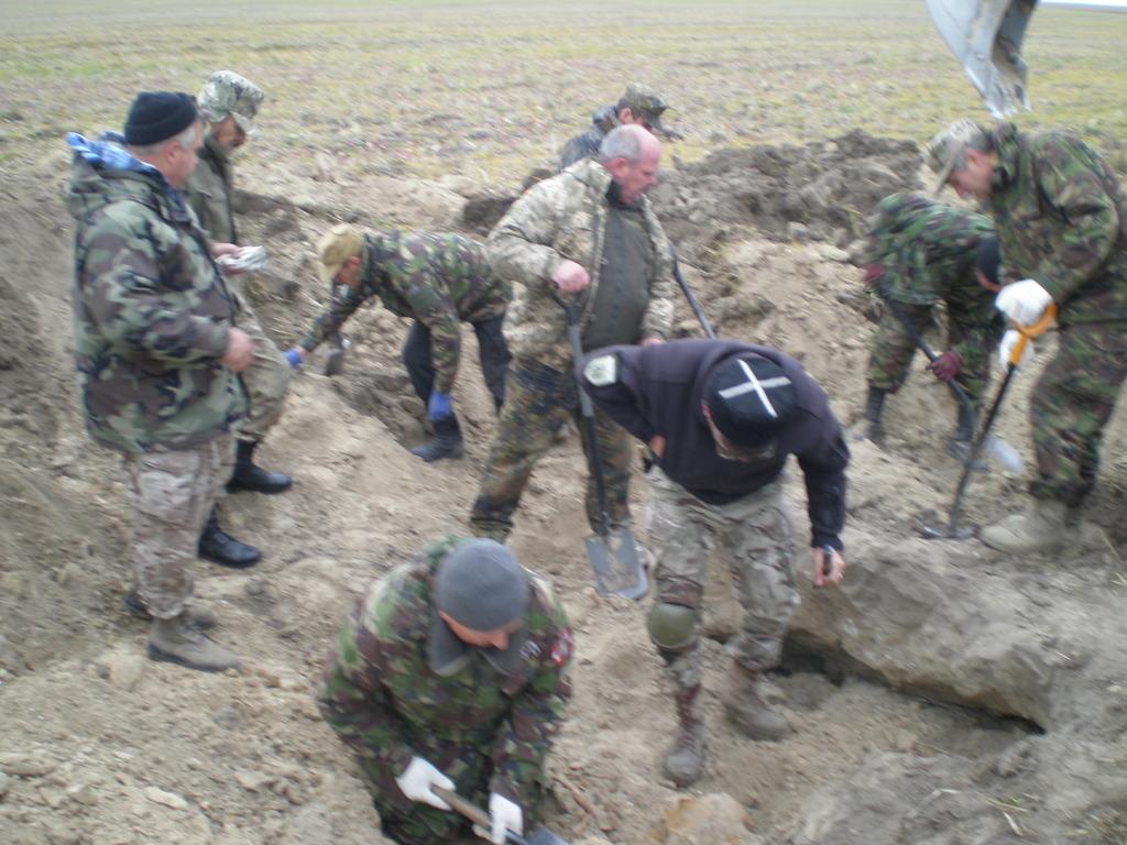 На Волині виявили останки радянських солдат Другої світової війни. ФОТО
