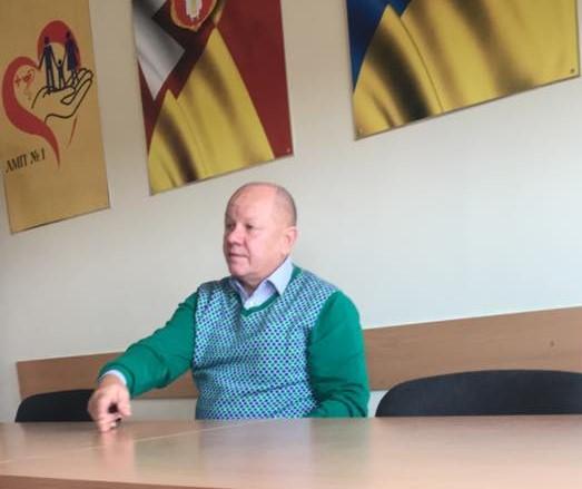 Призначали нового керівника луцького реабілітаційного центру для атовців