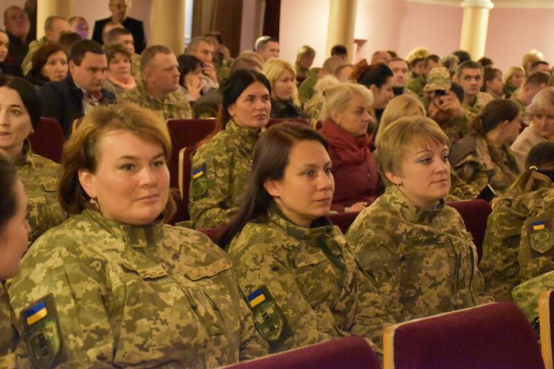 У Луцьку привітали військовослужбовців із Днем захисника України