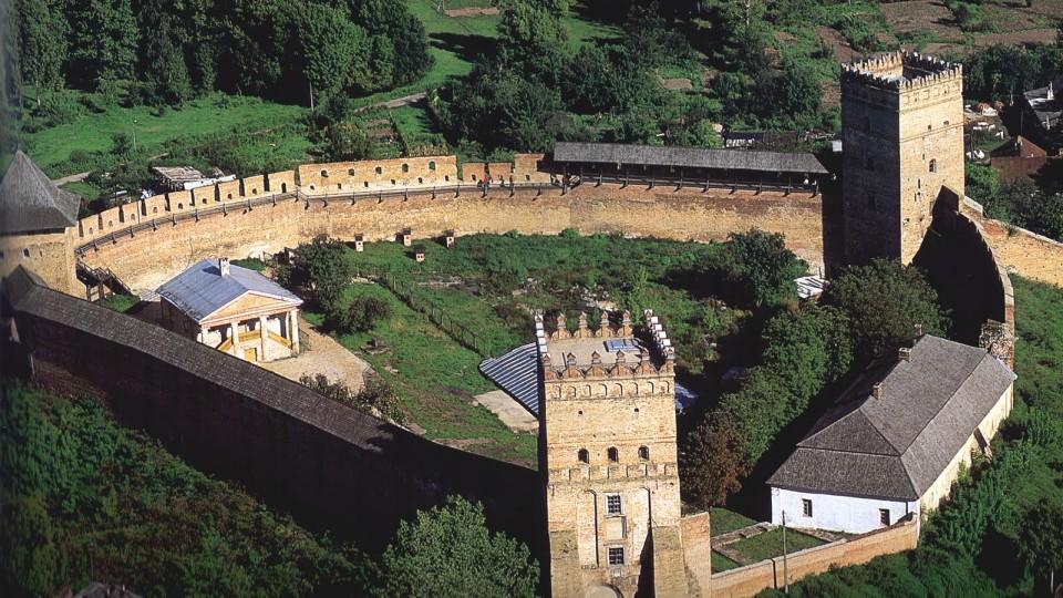 Лучанам показали, як виглядав Луцький замок в роки Другої світової війни. ФОТО