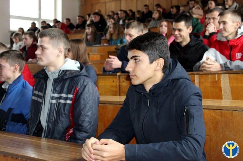 Студентам Луцького НТУ влаштували профорієнтаційну зустріч