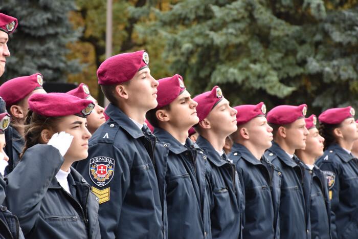 У Луцьку 72 ліцеїсти склали присягу на вірність українському народу. ФОТО