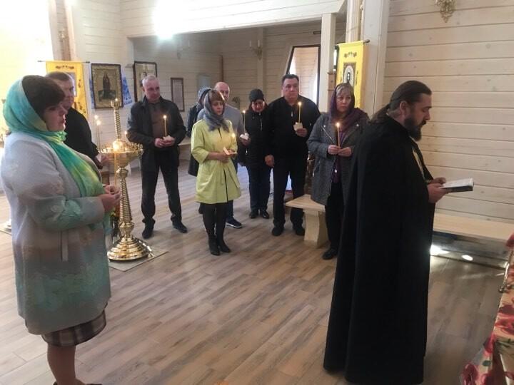 У Волновасі відслужили службу за упокій душі Олексія Веремійчика