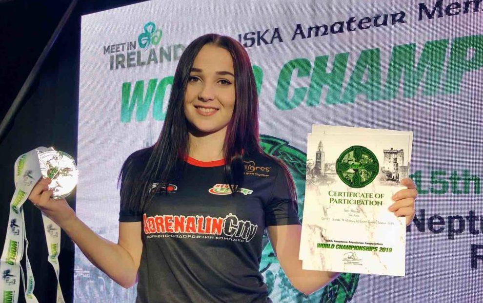 Волинянка здобула срібло на чемпіонаті світу з кікбоксингу. ФОТО