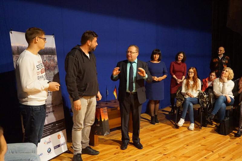 У Луцьку відбулася творча зустріч з Німецьким режисером