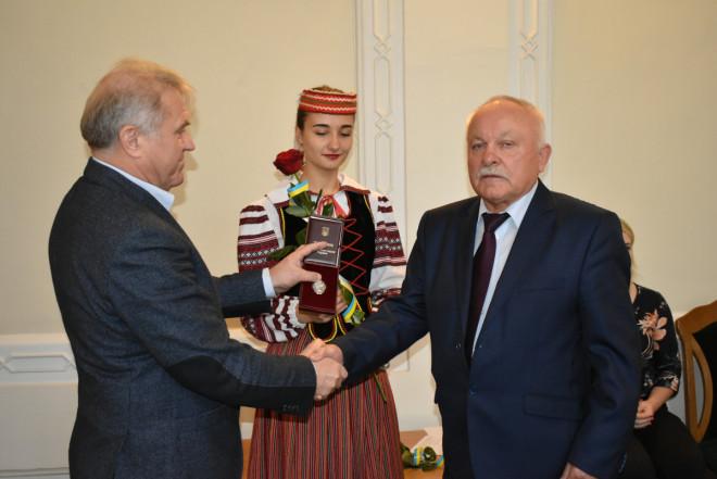 Волинським освітянам вручили державні нагороди