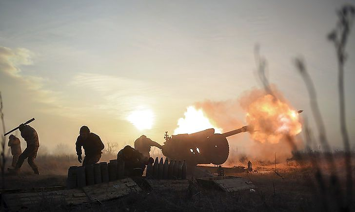 На Донбасі чотири рази обстріляли позиції Об'єднаних сил