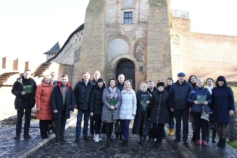 Делегація Комітету ВРУ завітала до Луцького замку та музею Лесі Українки у селі Колодяжне