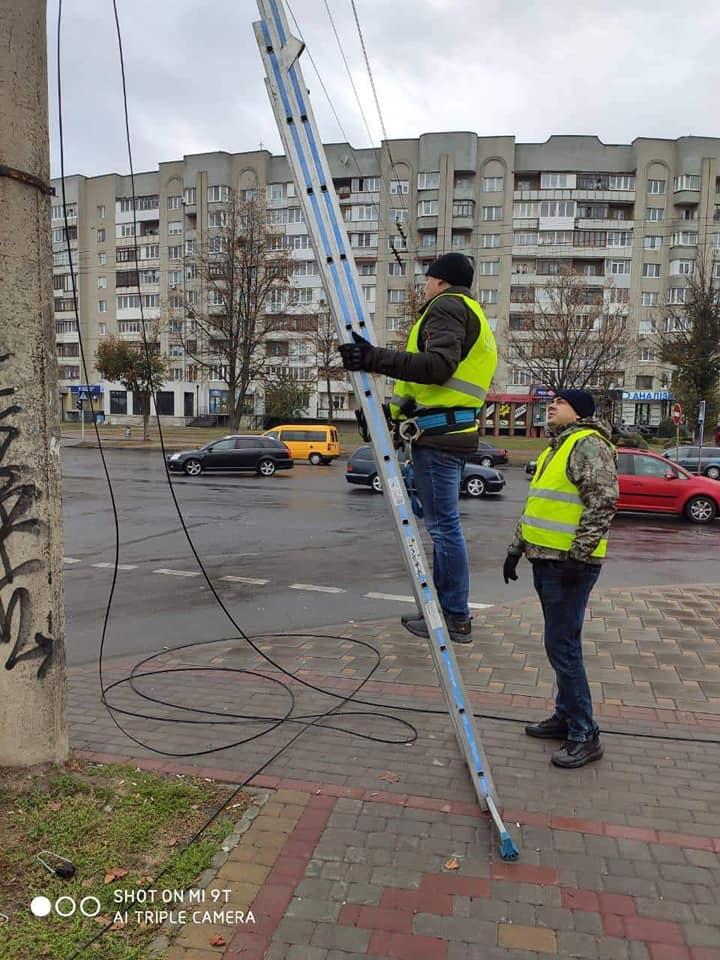 У Луцьку розпочали будівництво системи відеоспостереження одного із районів