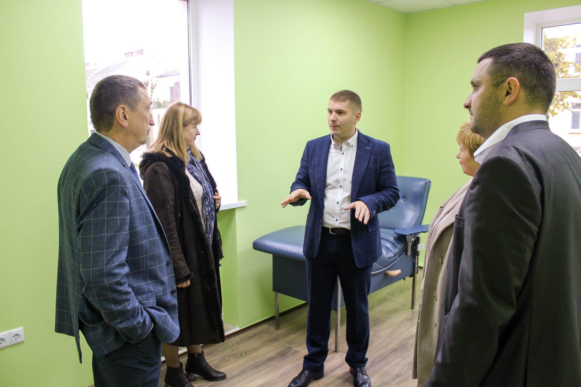 У волинському місті відкрили частину капітально відремонтованої амбулаторії. ФОТО