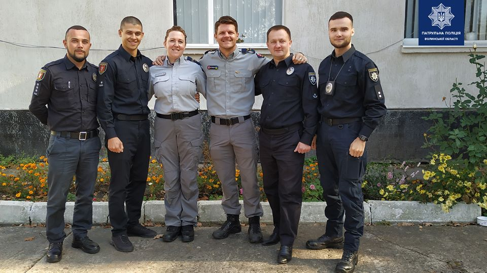 Волинські патрульні підвищують кваліфікацію