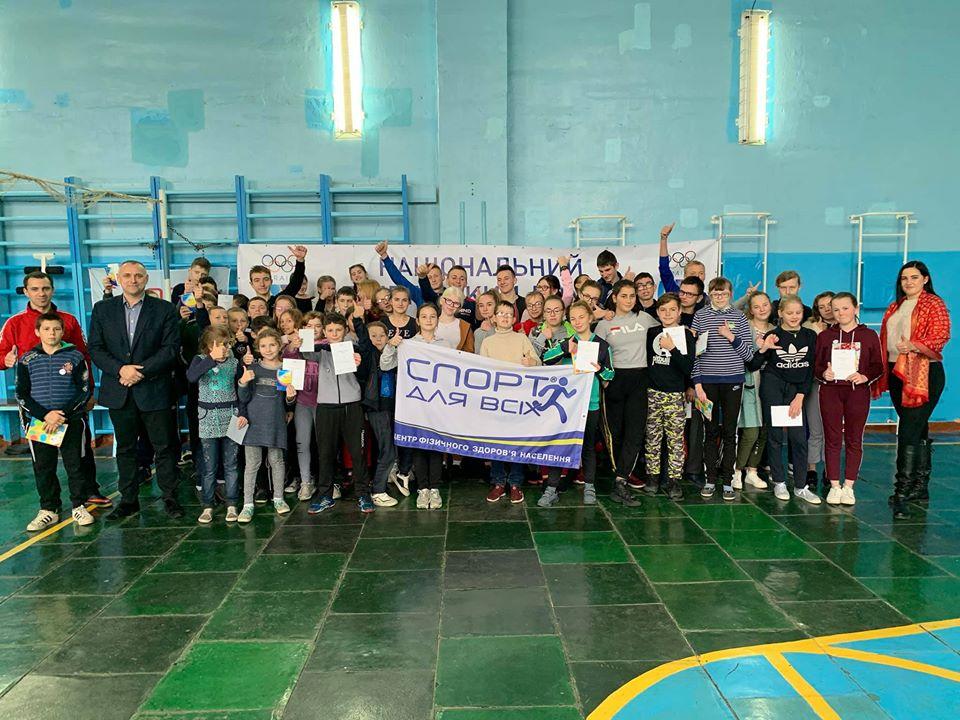 У волинському навчально-реабілітаційному центрі дітей залучили до пізнавальних бесід та спортивних естафет