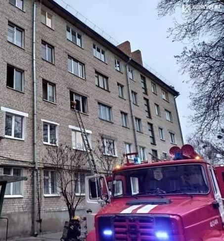 У Луцьку з пожежі врятували дитину