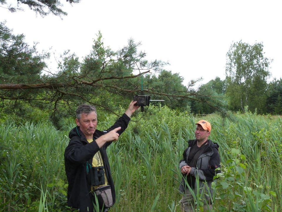 На території національного парку встановили фотопастки
