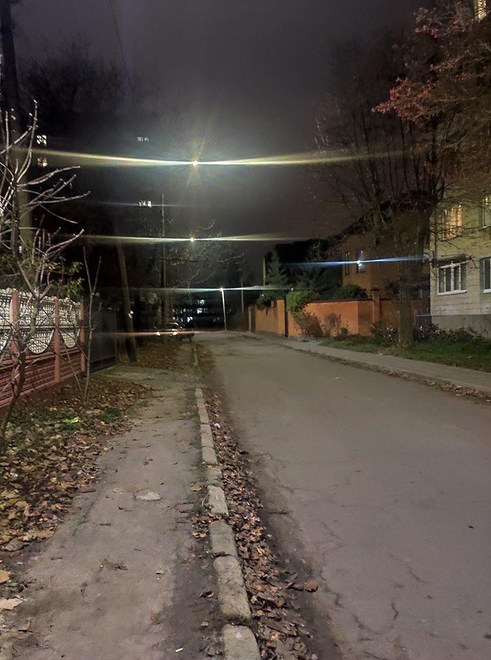 На вулицях Луцька встановили LED світильники