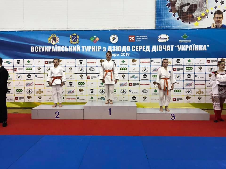 Волинянка стала срібною призеркою на турнірі з дзюдо
