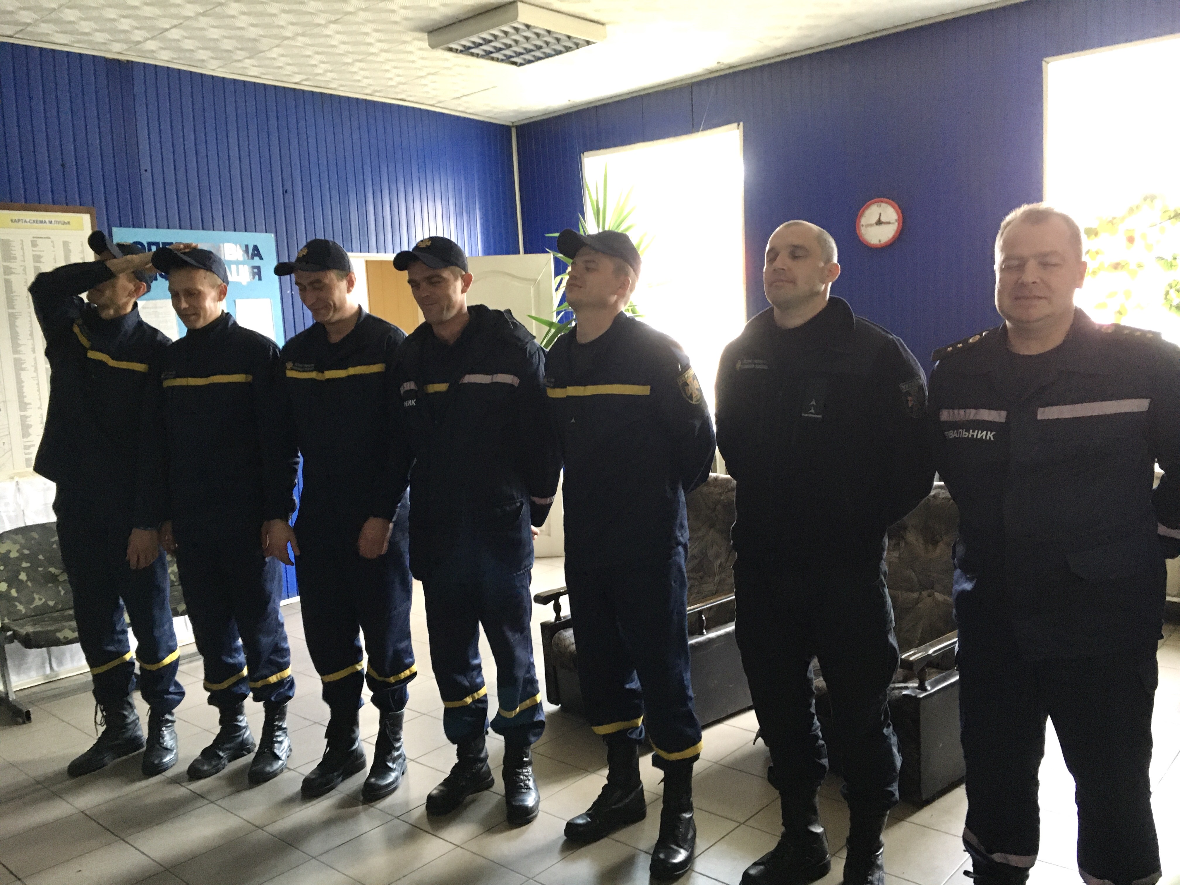 У Луцьку рятувальники вчилися правильно долати стресові ситуації