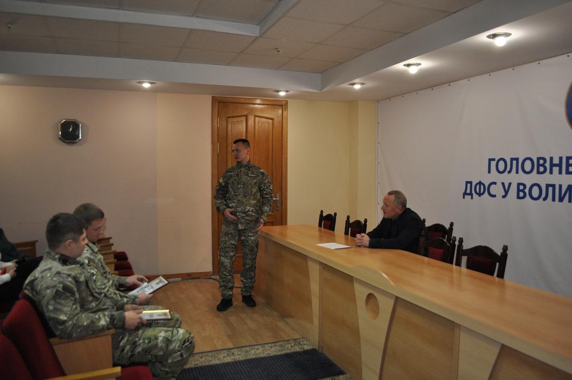 На Волинь після успішної служби в зоні ООС повернулися співробітники податкової міліції