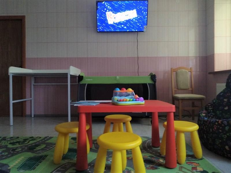 В амбулаторії на Волині облаштували дитячу кімнату. ФОТО