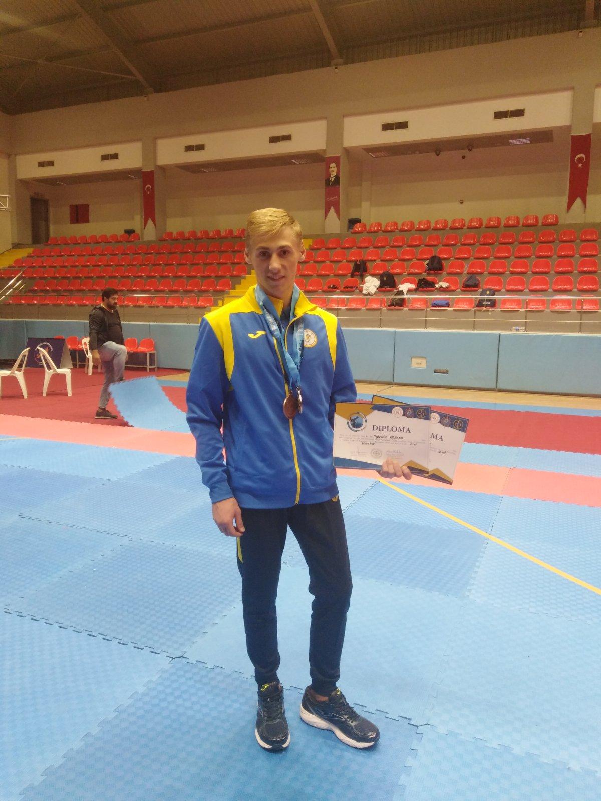 Волинянин став призером чемпіонату Європи з тхеквондо