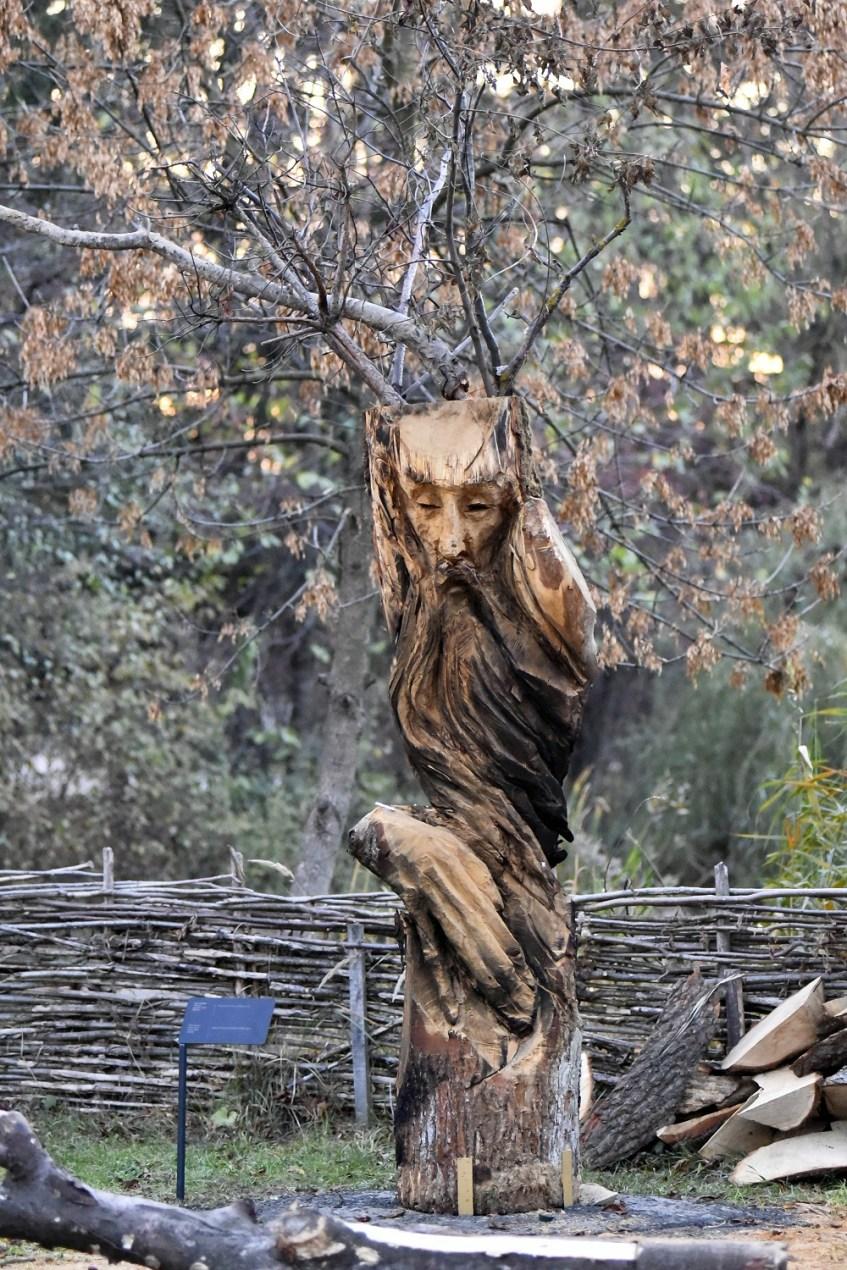 У Луцьку відкрили парк унікальних дерев'яних скульптур. ФОТО