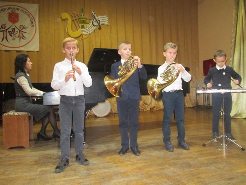 На Волині у школі мистецтв відбулося свято духовної музики