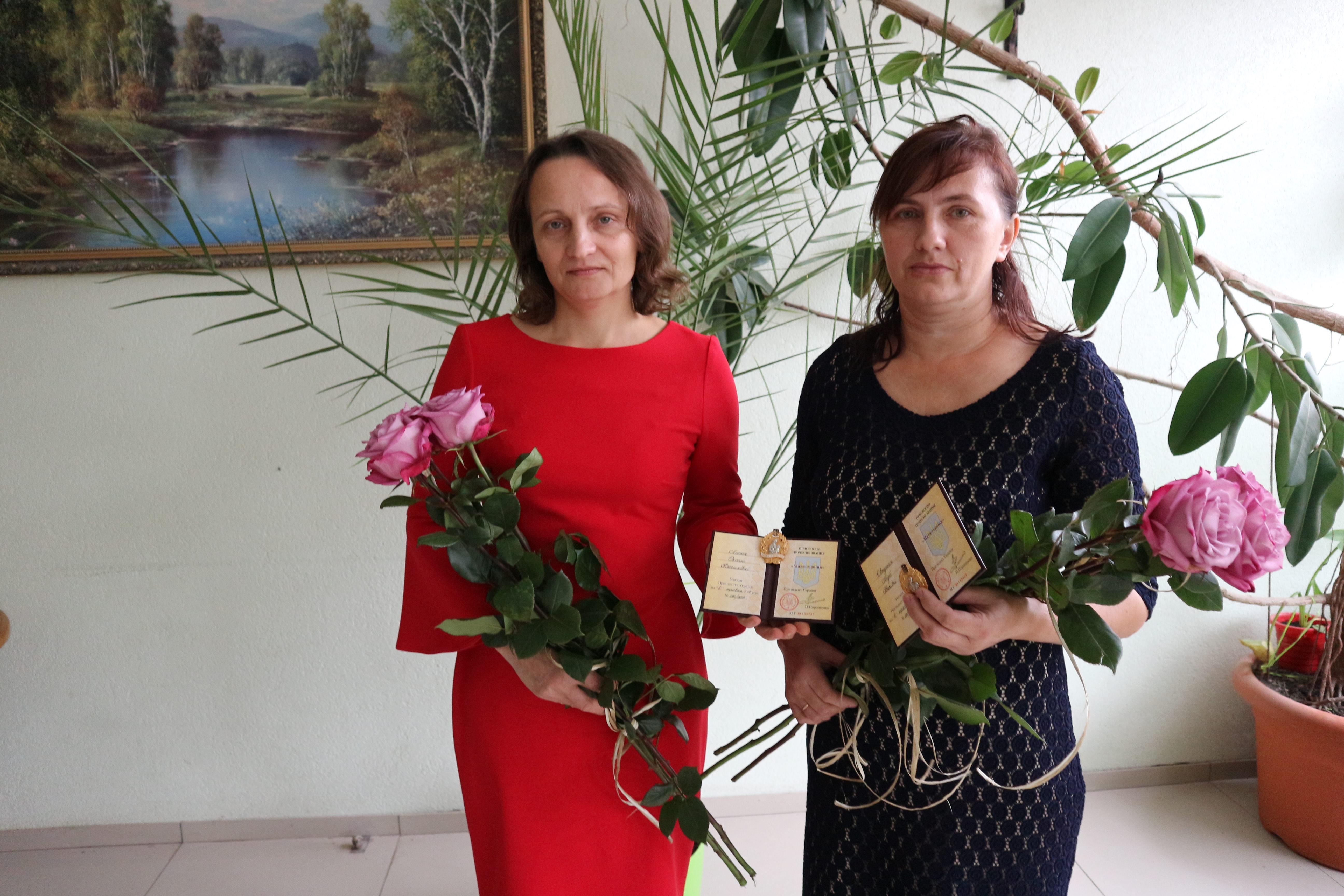 Двоє волинянок отримали звання «мати-героїня»