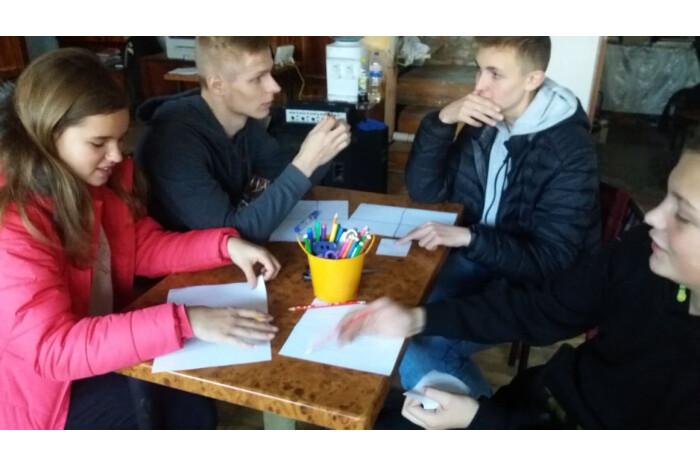У Луцьку проводять проект для дітей для розвитоку креативного мислення та протидії булінгу