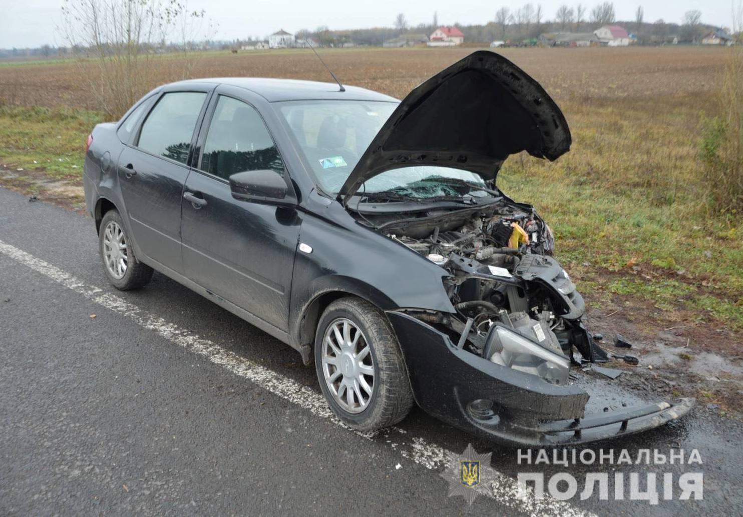 На Волині в результаті ДТП два водії та пасажир потрапили до лікарні