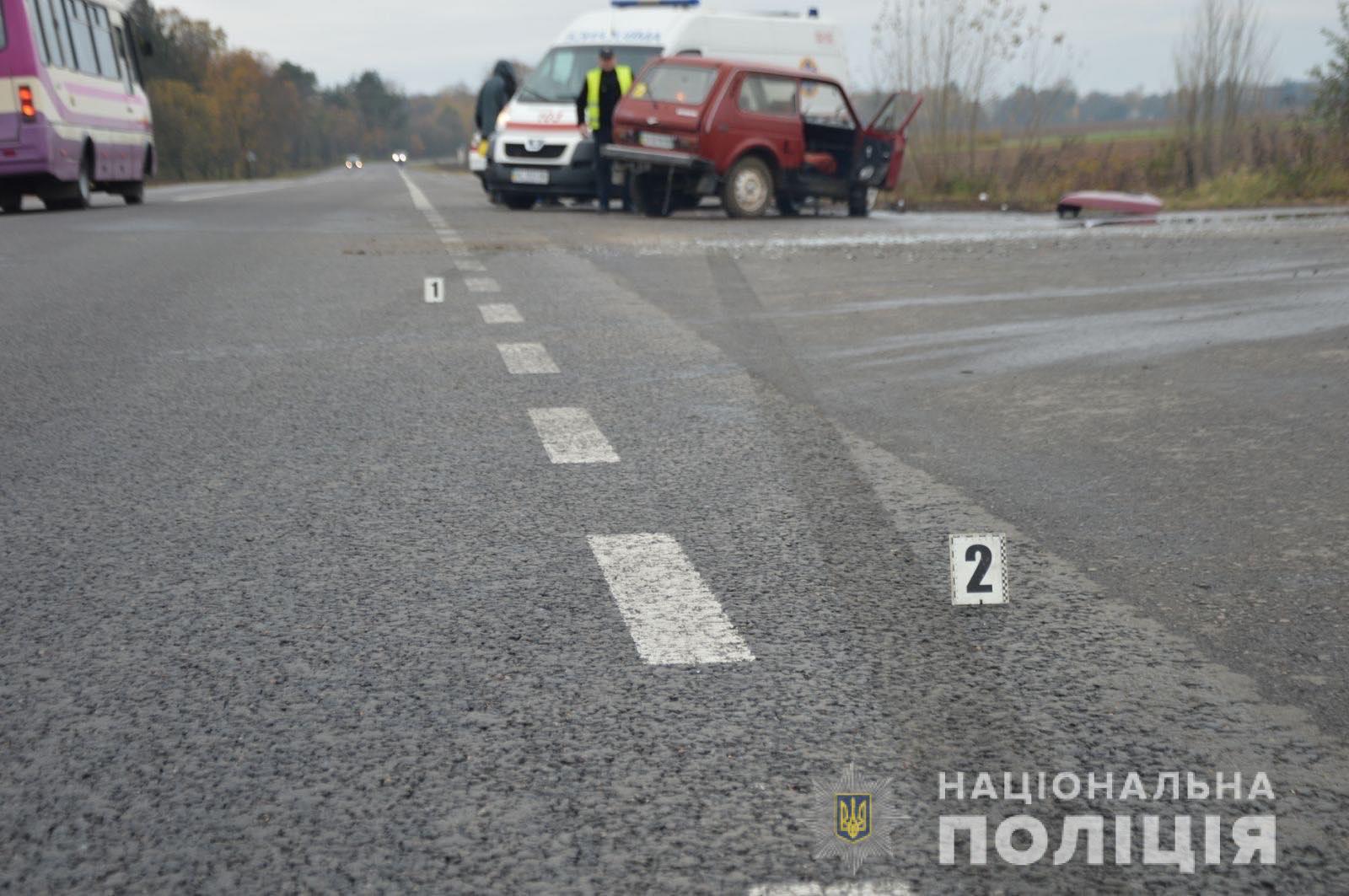 На Волині з початку року на дорогах загинули 93 людини