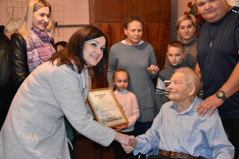 Лучанин Михайло Алексєєвцев відзначив столітній ювілей