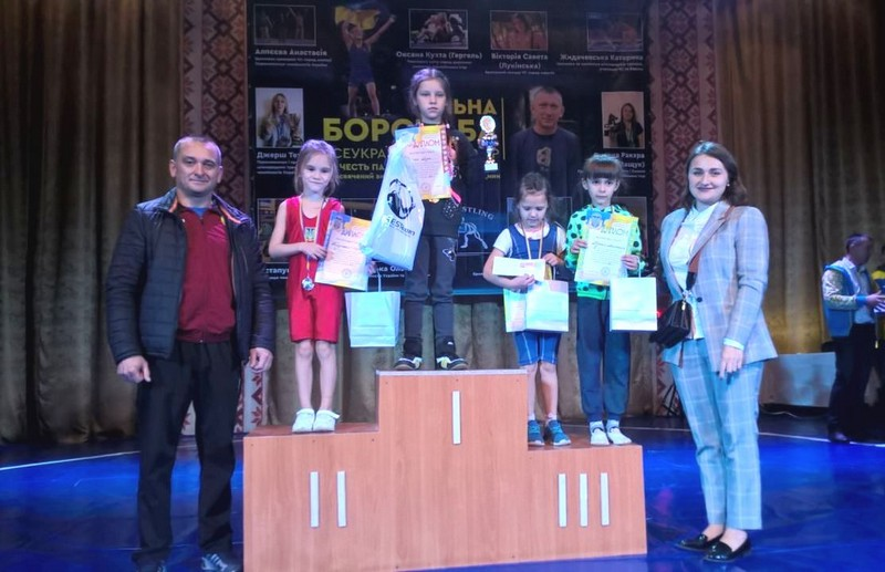 Волиняни стали призерами всеукраїнського турніру з вільної боротьби