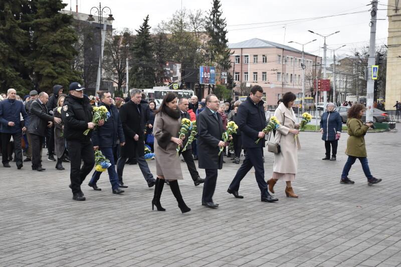 У Луцьку відбулися пам'ятні заходи з нагоди Дня Гідності та Свободи